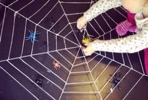 Halloween / Halloween arts, crafts, sensory play and activity ideas for babies, toddlers and preschoolers.