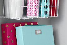 Storage ideas / by Patti Anderson