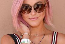 Pink love hair