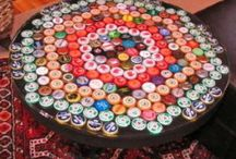 Crafts--BOTTLE CAPS & WINE CORKS / All kinds of different crafts and projects using bottle caps and wine corks! / by Jennifer Brown