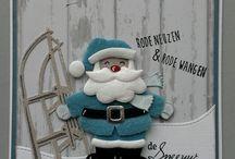 kaart maken:winter/kerst/jaarwisseling