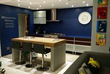 Sandra Du Plessis / Navy Blue Kitchen