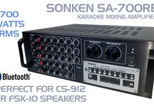 Karaoke Mixing Amplifiers and Speakers / Take your karaoke performance up a level with professional amplifiers and speakers for your karaoke system. All available in Australia from Karaoke Home Entertainment visit our Superstore in Melbourne or shop online www.khe.com.au
