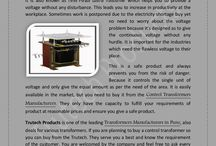 Specifications of Control Transformer