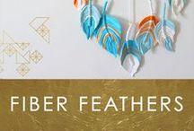 Fiber Feather Dreamcatcher