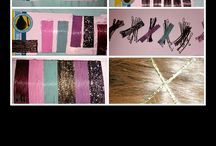 create new colors on your hair pins