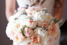 compositions florales avec des roses