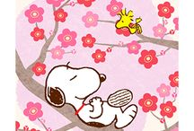 snoopy and garfield