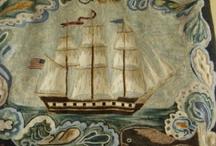 Rug Hooking Ships & Boats / by Sylvia Gauthier