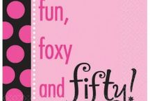 Fit and 50 Birthday Party Ideas
