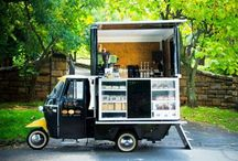 Cafe carts / Meals and drinks on wheels