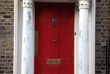 Doors of Dublin / Some Door Pictures I took on a trip to Dublin