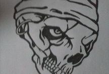 Mes dessins / My Draw / Reproduction et certaines créations