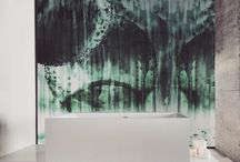 Waterproof Panels by Studio198 / Our bespoke art panels are a perfect alternative to tiles. Panels are 100%waterproof and perfect for wet areas including bathrooms & Shower stalls.