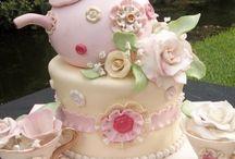 Tea Party Cake Ideas / CAKE