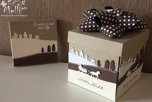 Card / Box - Christmas Schlittenfahrt