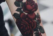 Ideas tatuajes rosas