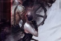 Cyberpunk / Cyberpunk fantasy.