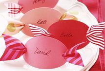 Wedding thème bonbons