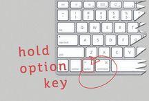 keyboard tekens