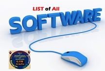 List of All Softwares