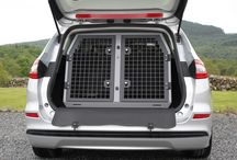 Ford Motor / A Selection of Dog Transit Boxes, Dog Cages and Dog Crates for Ford Vehicles