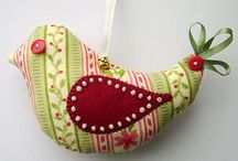 Sewing Owls, Birds & Chickens