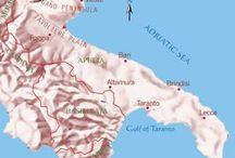 ☀PUGLIA ♥ITALIA / The fascinating variety of traditional Italian regional cuisine / by Luigi Carnevali