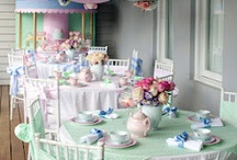 Tea Party / Having a different theme is great for your next event.  Let us help you create that look.  www.yourmainstream.com