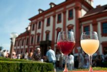 "W I N E F E S T I V A L S / In September and October Prague is hosting several event dedicated to wine and grape harvesting. Don´t forget to taste ""burčák"" - dirty water looking drink which is actually fermented grape juice. Delicious and a bit tricky."