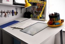 Home: Studio & Office Spaces / by Taryn Garrett