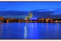Kölner Panorama Fotos