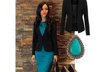 Business woman in Tubino / Happy businesswomen  are the prettiest !