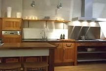 Kitchen Design -Modern Rustic / From modern rustic to retro, here's a few ideas showing you how a few new kitchen accessories can update your kitchen's style.