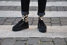 Sockaholic & Victoria / Colaboración de Sockaholic con calzados Victoria