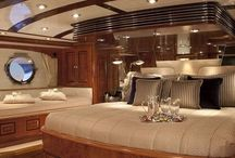 Yacht Interiors / Luxury interiors limited only by designers' imagination