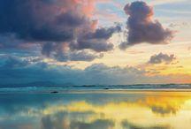 облака и закаты