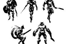 concept art - thumbnails