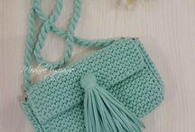 вязание сумки клатчи