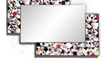 Kaleidoscope Contemporary Mirrors / Contemporary mirrors