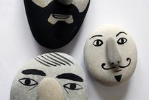 A. Painted Stone People/Shoes  / by Gini Paton