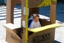 caja de carton gigante