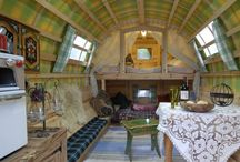 Gypsy Wagons - a different travel trailer / by Violet Vaughn