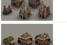 Concept-Medieval Buildings