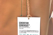 Green thread = Food / With every bag you purchase, #GenerationGenerous will educate a family in #EastTimor on nutrition and methods to reduce the incidence and recurrence of malnutrition. The green colour thread that this bag is made with represents the basic life need of Food.