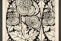 Erbe fiori alberi  in arte e grafica