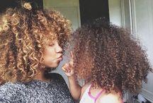 coiffure boucler que j'adore