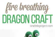 Dragons, creatures and make believe art