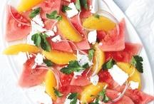 yummy salads! / by Vicki Hoffstein