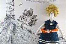 Zanami / Art, doll, hendmade, diy, decor, artist, sculpture, home, design and more!  Интерьерные решения для дома. Декоративные элементы ручной работы, искусство и творчество,